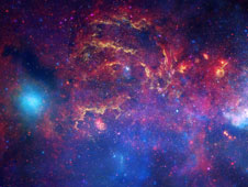 Image of the central region of our Milky Way galaxy