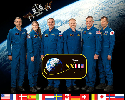 ISS023-S-002b: Expedition 23 crew