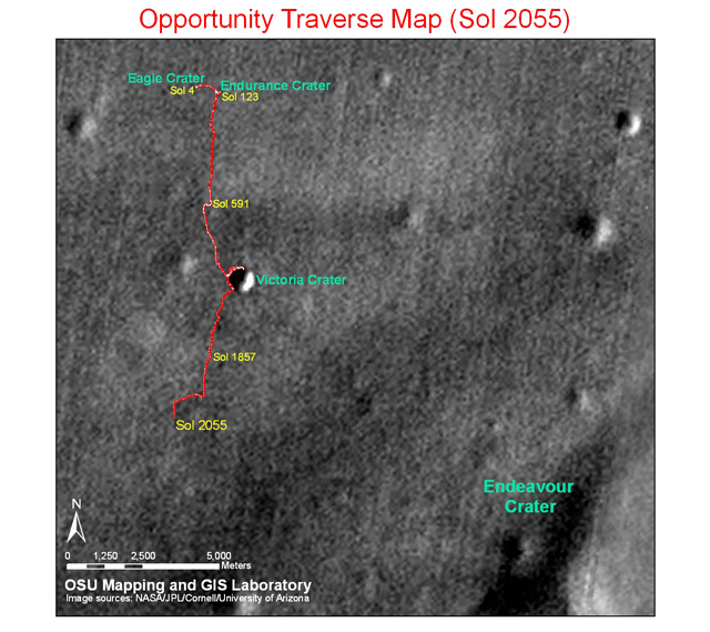 Plan for Getting Mars Rover Moving