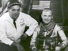 Thomas O'Malley, left, and John Glenn