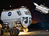 Lunar Electric Rover and Hubble Space Telescope