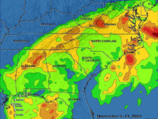 TRMM rainfall analysis of