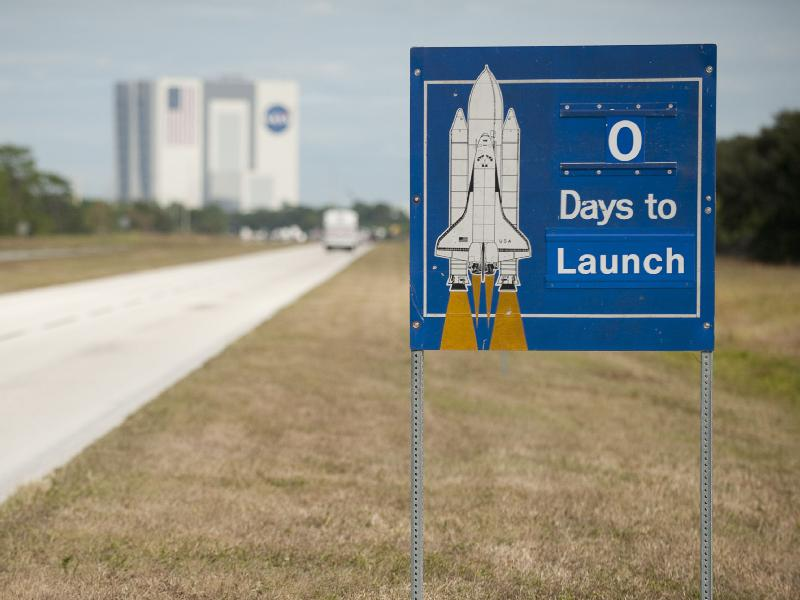 Space Shuttle Atlantis Launch Day