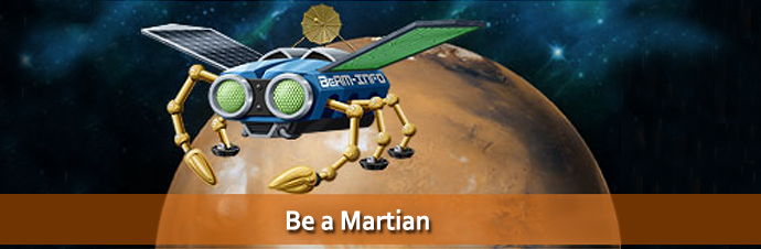 Be A Martian Screenshot