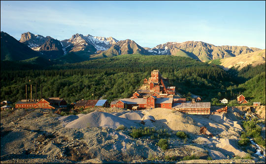 Kennecott Copper Mine in Alaska