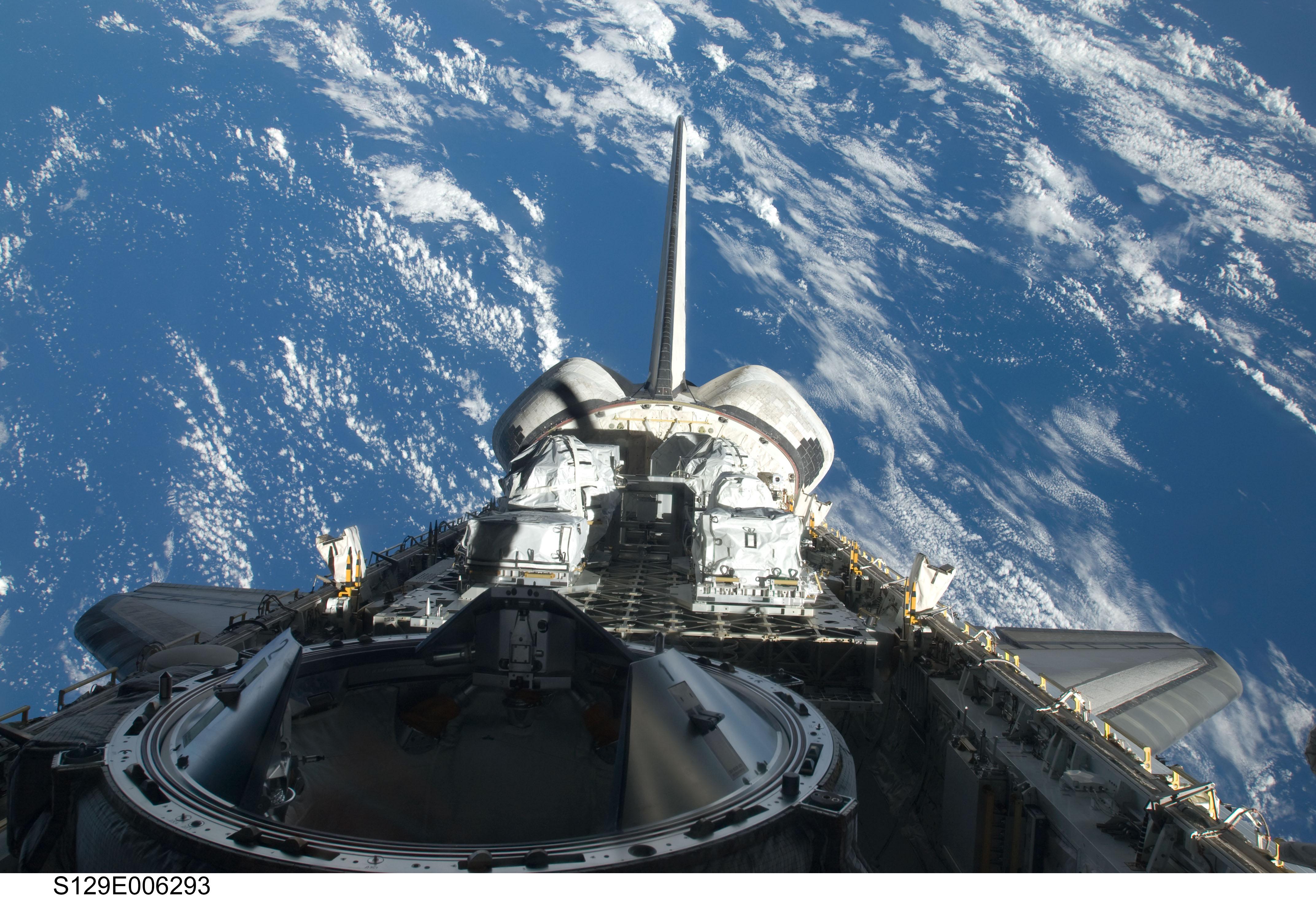nasa space shuttle in orbit - photo #31