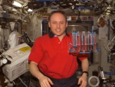 CFE experiment aboard the International Space Station