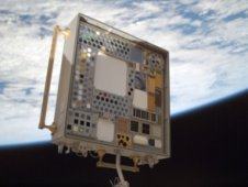 MISSE experiment aboard the International Space Station