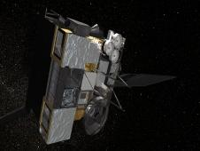 Artist concept of GOES-O in orbit