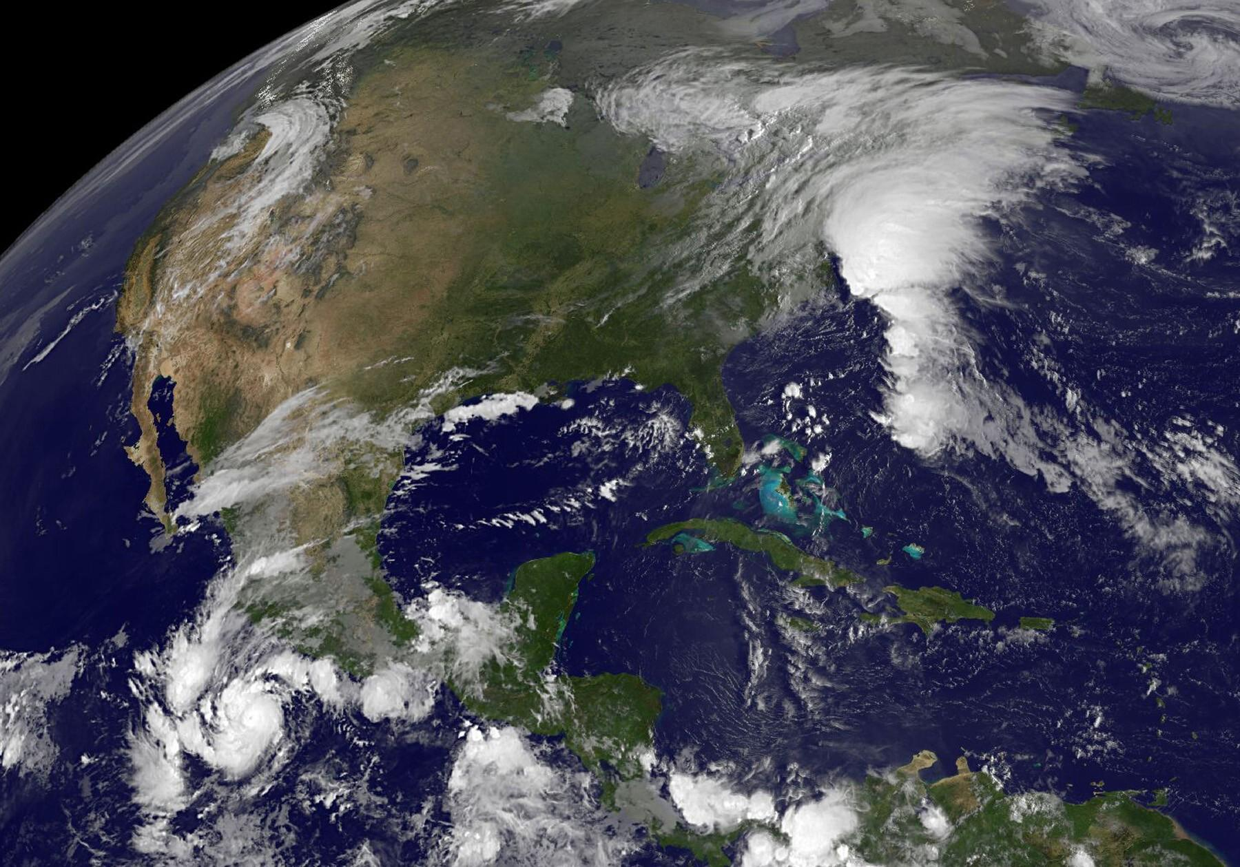 GOES captures Tropical Storm Danny