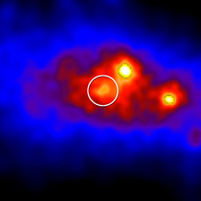 Fermi view of gamma-ray concentrations near Cygnus X-3