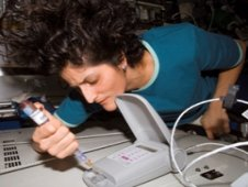 Lab-on-a-Chip Application Development experiment aboard the International Space Station