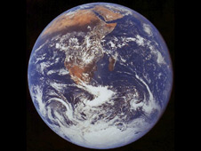 View of the Earth as seen by the Apollo 17 crew