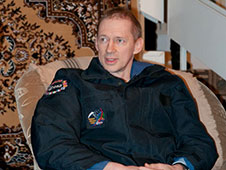 European Space Agency astronaut Frank De Winne