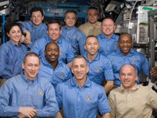 STS-129 and Expedition 21 crew