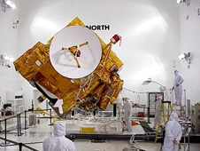 The Terra weather satellite