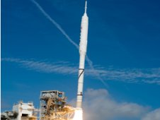 Ares IX test rocket launch