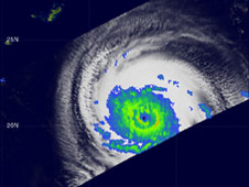 TRMM image of Typhoon Melor