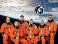 STS-130 astronauts