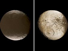 two global images of Iapetus