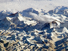 Photo of the Himalayan glaciers