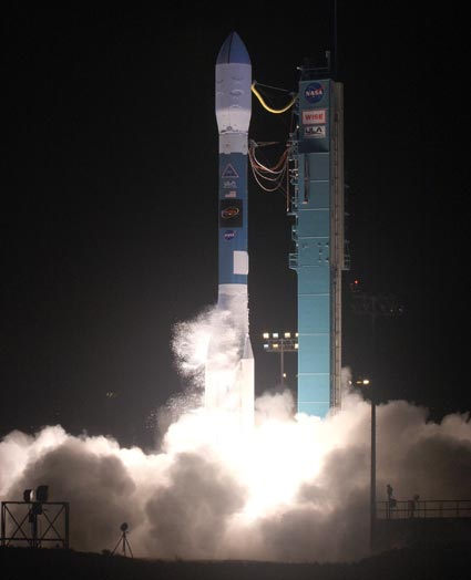 Delta II launches WISE spacecraft.