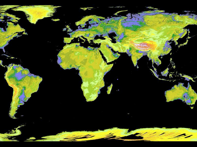Global Digital Elevation Model