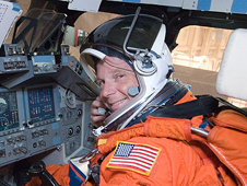 JSC2009-E-146840 -- STS-130 Pilot Terry W. Virts Jr.