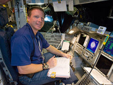JSC2009-E-240773 -- STS-130 Pilot Terry W. Virts Jr.