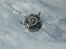 ISS022-E-014350 --  The Soyuz TMA-17 spacecraft