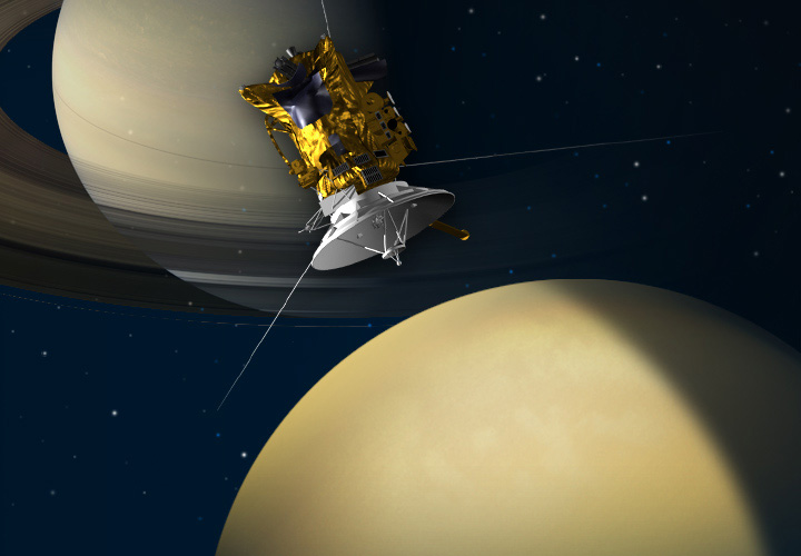 cassini mission dates - photo #43