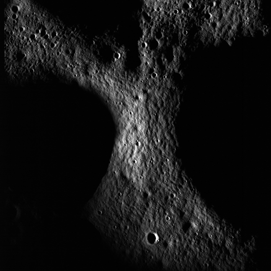 Peary Crater as seen by LRO
