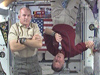 Expedition 22 Crew Members Salute the Troops