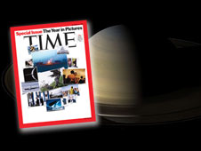 Saturn image in Time magazine