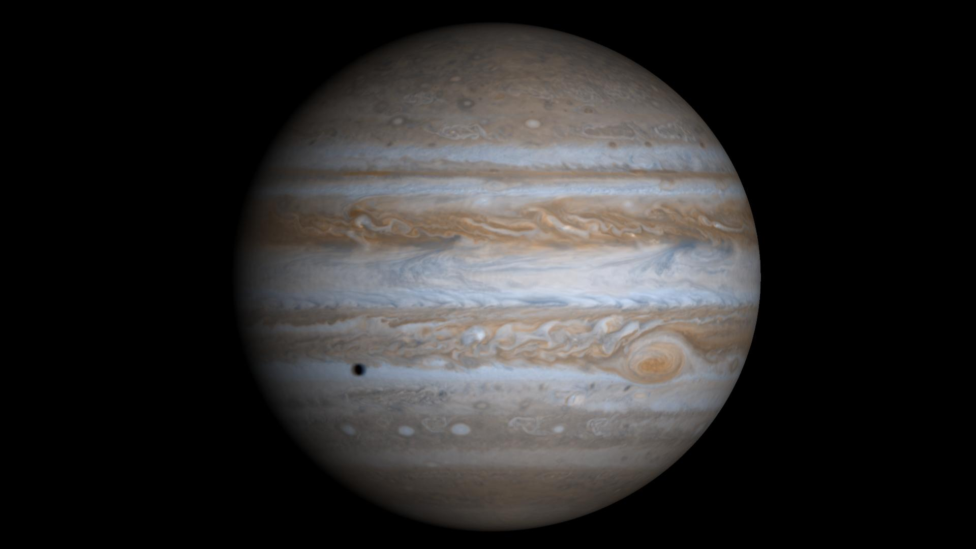 Real Pictures Of Jupiter The Planet This true-color simulated view