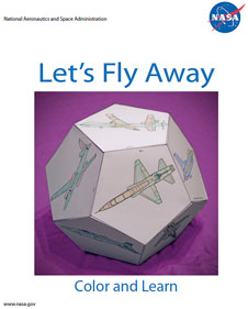 Cover page of Let's Fly Away Airplane Dodecahedron