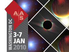 AAS Meeting in Washington, D.C., January 3-7, 2010