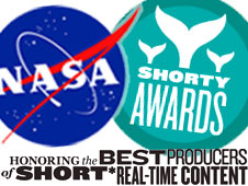 NASA Nominated for Shorty Awards