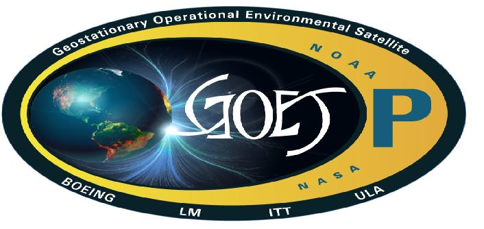 GOES-P Decal