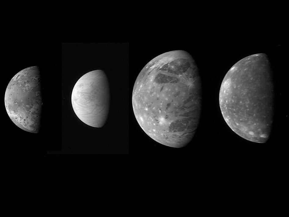 NASA - Jupiter's Moons
