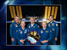 Expedition 22 Crew Portrait