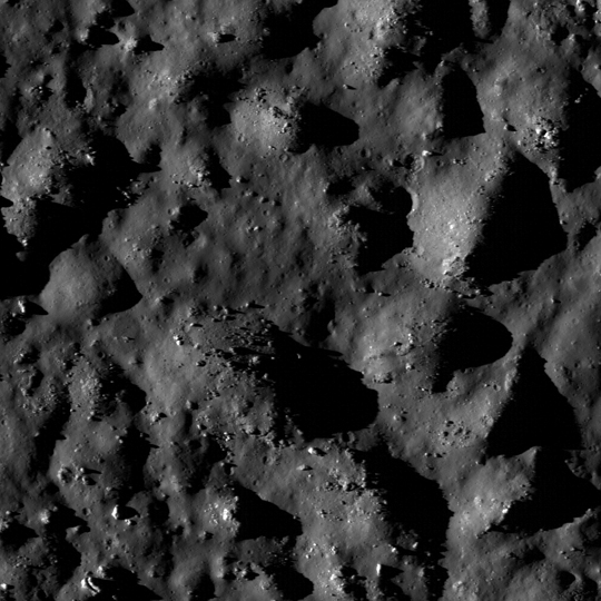 Close up of Tycho Crater taken by LRO