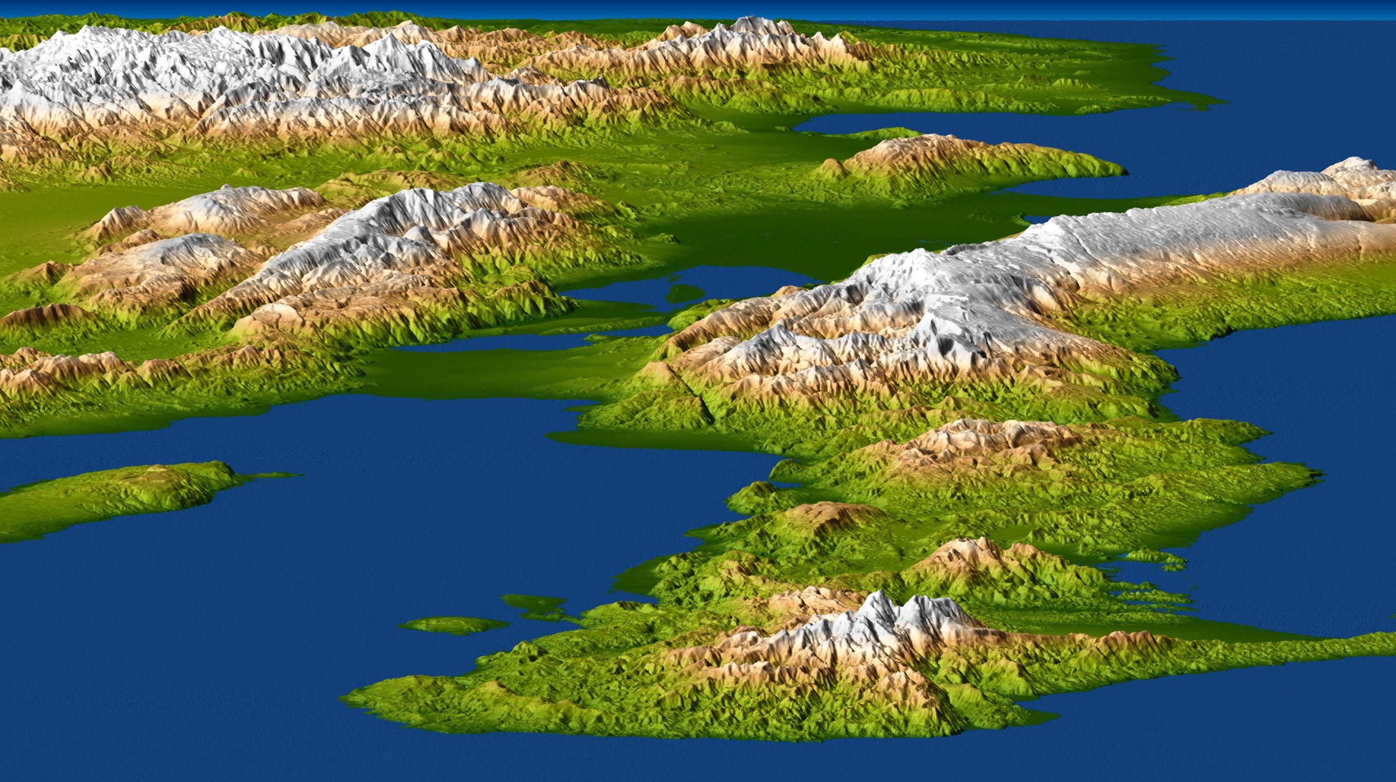 Long Island Landforms