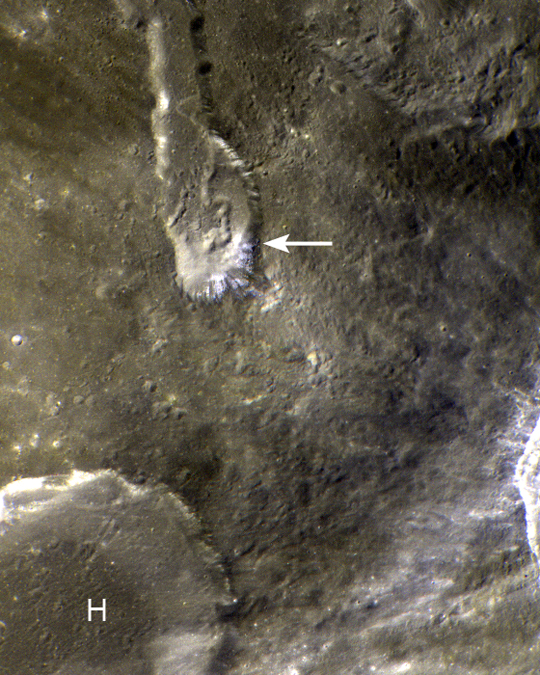 LROC WAC mosaic centered on the Aristarchus Plateau