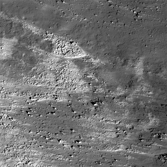 Eastern slope (right to left is downhill) of the Vallis Schröteri