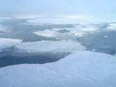 Arctic melt image
