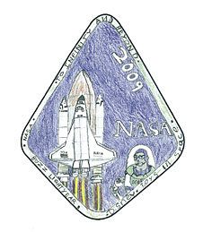 A mission patch designed by Ian