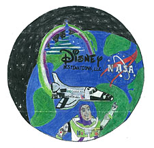 A mission patch designed by Sammira