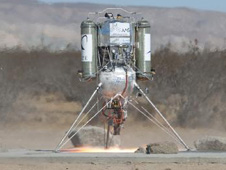 image of the Masten Team Lunar Lander