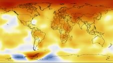 10-year average global temperature index